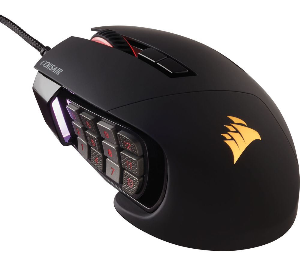 Buy CORSAIR Scimitar Pro RGB Optical Gaming Mouse | Free