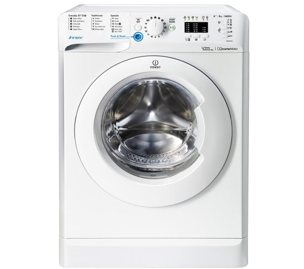 INDESIT Innex BWA 81483X W Washing Machine - White, White