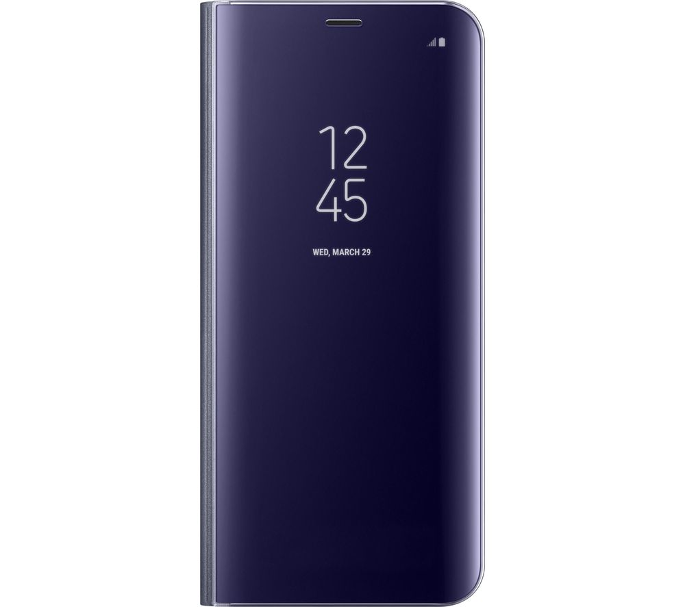SAMSUNG Clear View S8+ Case - Violet