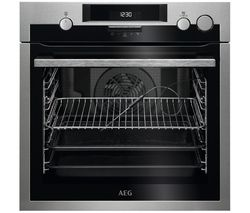 AEG SteamBake BSE574221M Electric Steam Oven - Stainless Steel