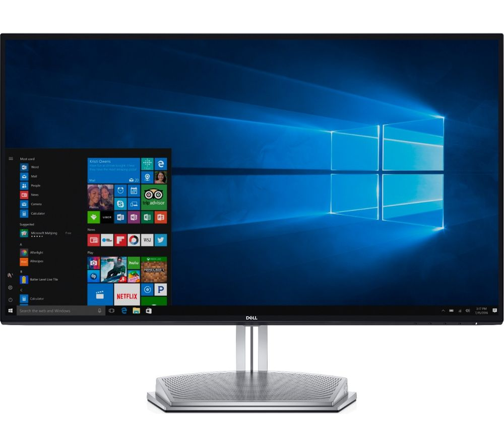 buy dell s2718h full hd 27 lcd monitor black free delivery currys. Black Bedroom Furniture Sets. Home Design Ideas