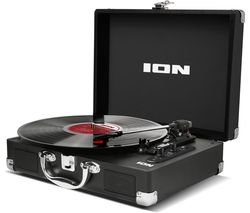 Vinyl Motion Air Portable Bluetooth Turntable - Black