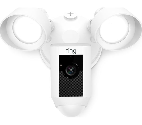 Buy Ring Floodlight Cam White Free Delivery Currys