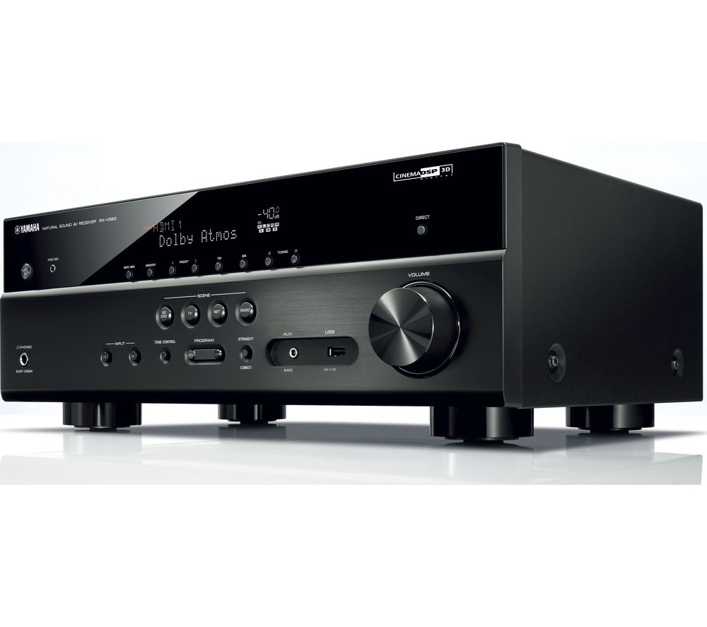 yamaha rxv583 7 2 channel av receiver deals pc world