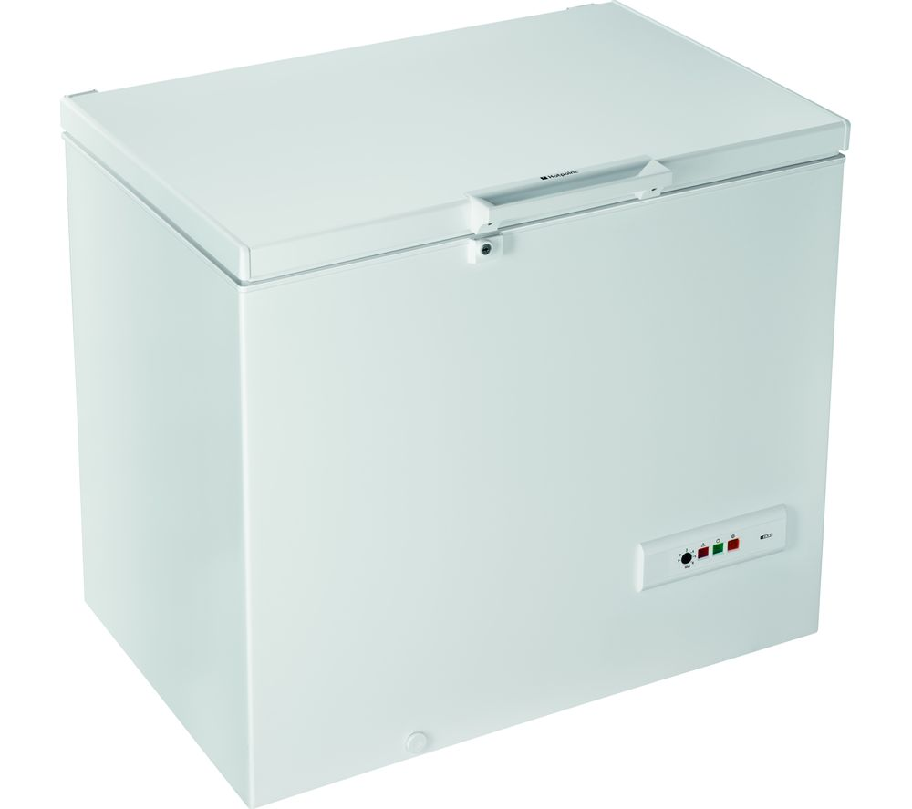 HOTPOINT CS1A 400 H FM FA Chest Freezer - White