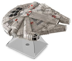 STAR WARS Li-B17 Millennium Falcon Portable Bluetooth Wireless Speaker - Grey & Silver