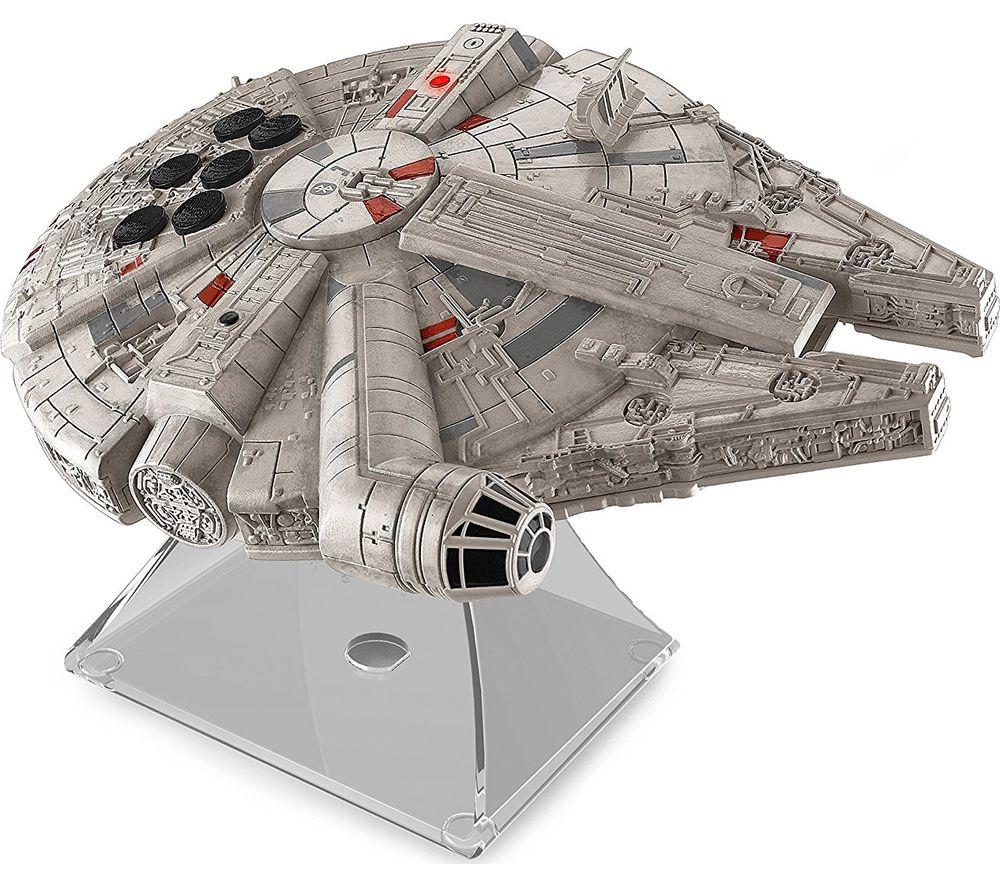Compare prices for Star Wars Li-B17 Millennium Falcon Portable Bluetooth Wireless Speaker - Grey