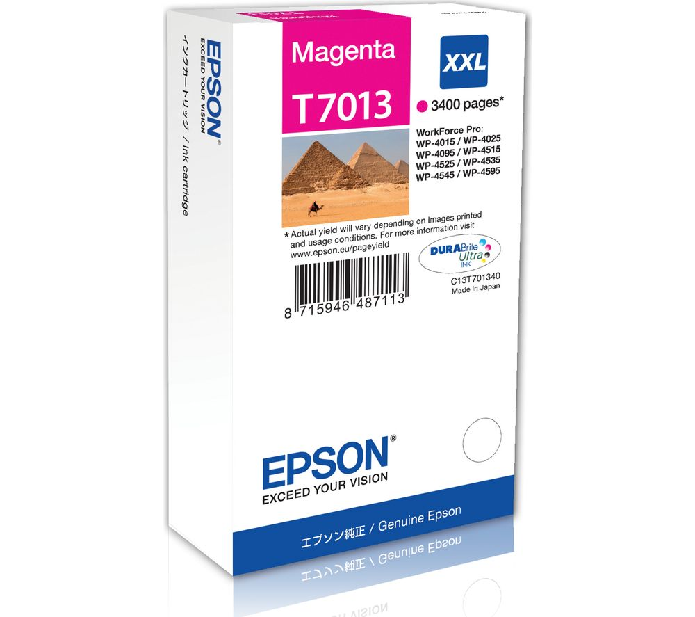 EPSON Pyramid T701 XXL Magenta Ink Cartridge