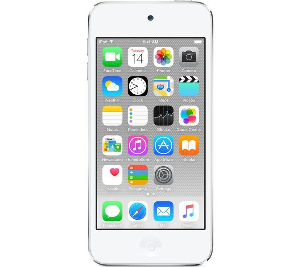 Image of APPLE iPod touch - 128 GB, 6th Generation, Silver