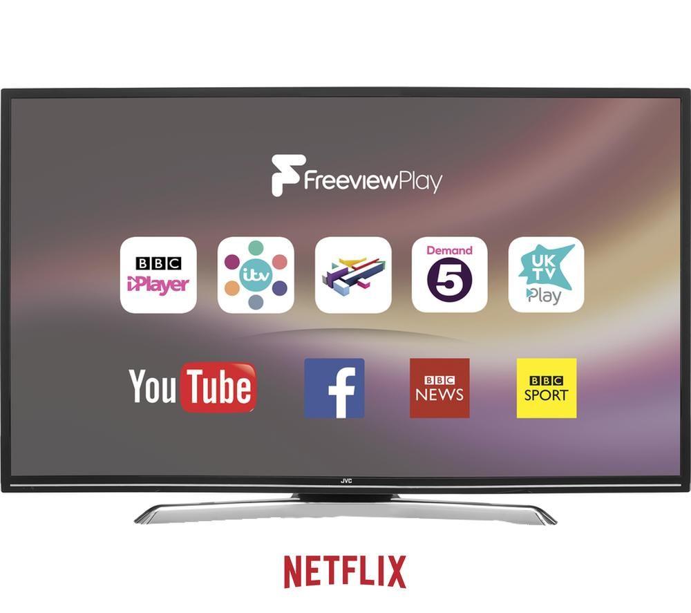 "JVC LT-48C780 48"" Smart LED TV"