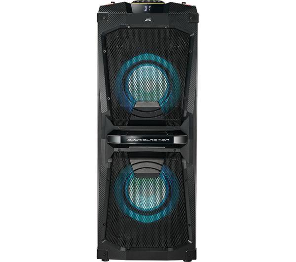 JVC MX-D528B Bluetooth Megasound Party Speaker - Black