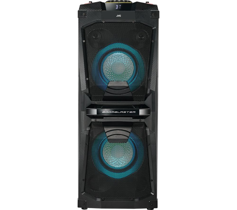 JVC MX-D528B Bluetooth Megasound Party Speaker - Black