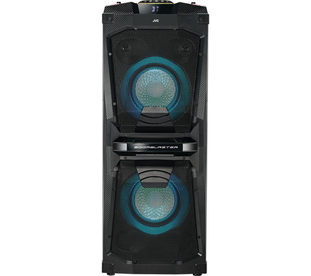 Buy JVC MX-D528B Bluetooth Megasound Party Speaker - Black