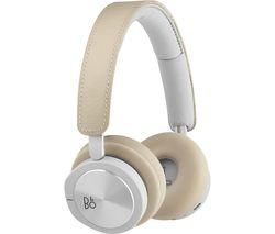 H8i Wireless Bluetooth Noise-Cancelling Headphones - Natural