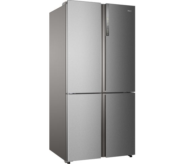 buy haier cube htf 610dm7 fridge freezer silver free delivery currys. Black Bedroom Furniture Sets. Home Design Ideas