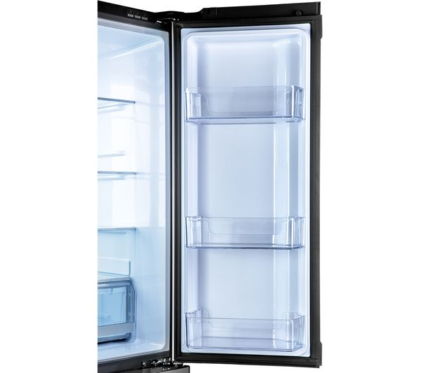 buy haier cube htf 610dm7 fridge freezer silver free. Black Bedroom Furniture Sets. Home Design Ideas