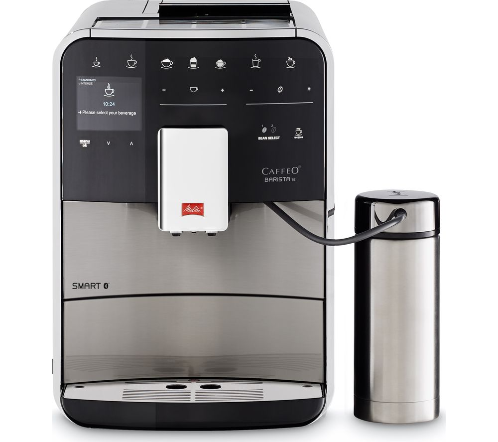 buy melitta caffeo barista ts f86 0 100 smart bean to cup coffee machine stainless steel. Black Bedroom Furniture Sets. Home Design Ideas