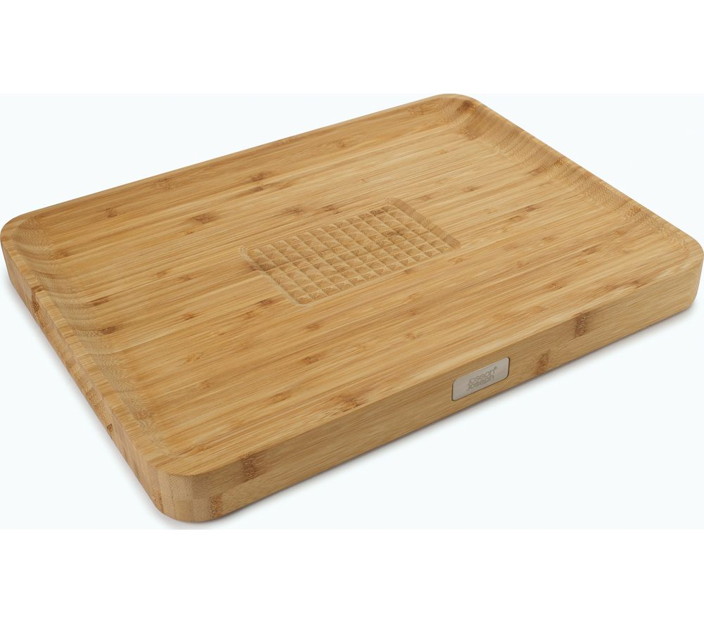 Image of JOSEPH JOSEPH Cut & Carve Chopping Board - Bamboo