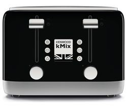 KENWOOD KMIX TFX750BK 4-Slice Toaster - Black