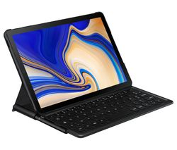 "SAMSUNG 10.5"" Galaxy Tab S4 Keyboard Folio Cover - Black"