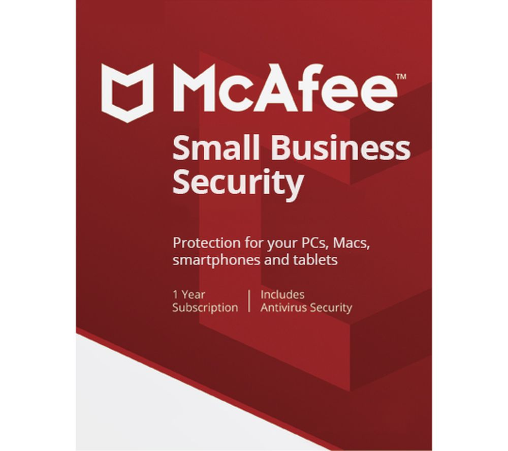 MCAFEE Small Business Security - 1 year for 5 devices