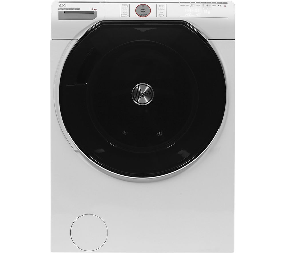 HOOVER AXI AWMPD413LH7 Smart 13 kg 1400 Spin Washing Machine - White, White