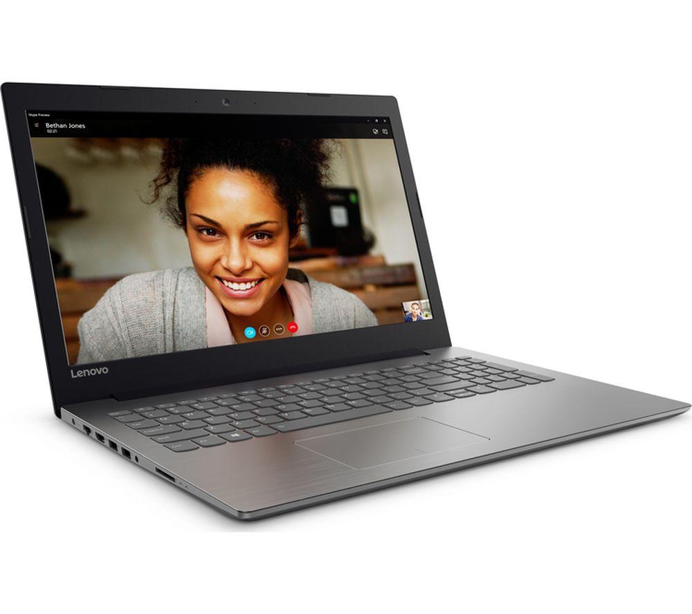 """LENOVO IdeaPad 320-15ABR 15.6"""" AMD A12 Laptop - 1 TB HDD, Black"""