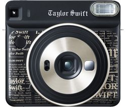 FUJIFILM SQ6 Taylor Swift Limited Edition Instant Camera - 10 Shots Included, Black
