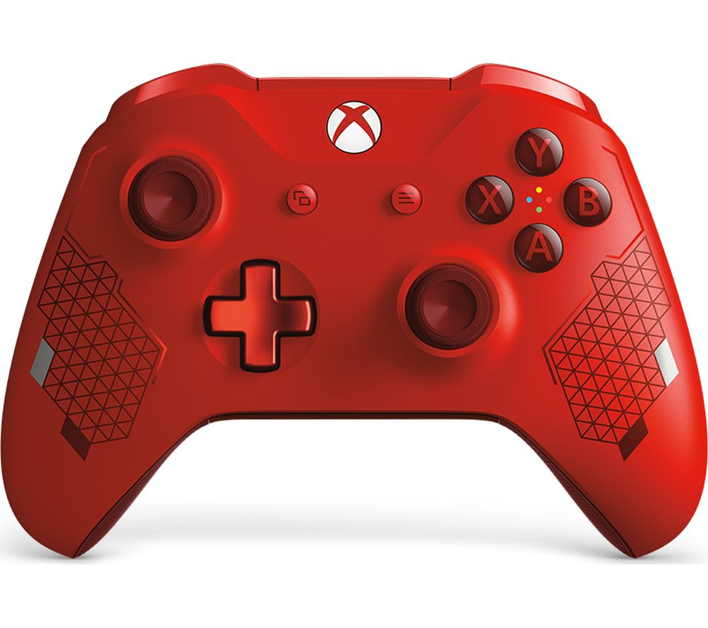 MICROSOFT Special Edition Xbox One Wireless Controller - Sport Red