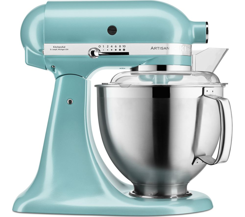 Image of Artisan 5KSM185PSBAZ Stand Mixer - Blue, Blue