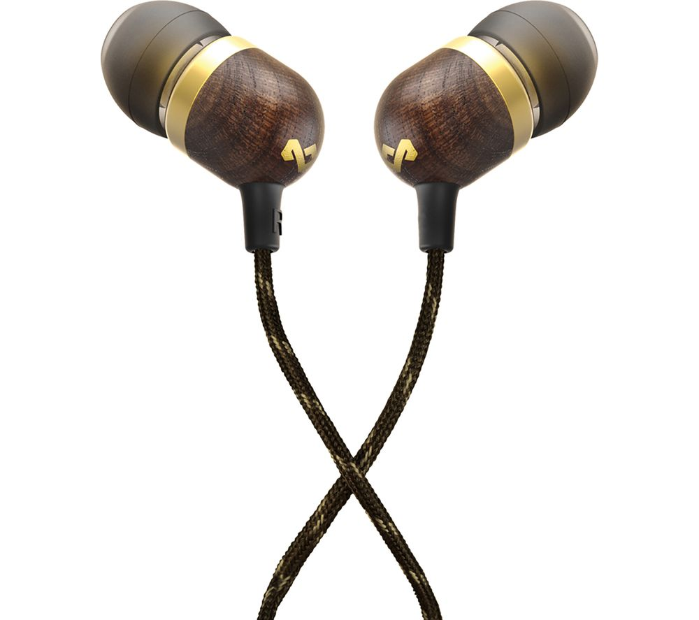 HOUSE OF MARLEY Smile Jamaica Headphones - Brass