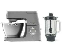 Chef Elite KVC5320S Stand Mixer with Glass Blender - Silver