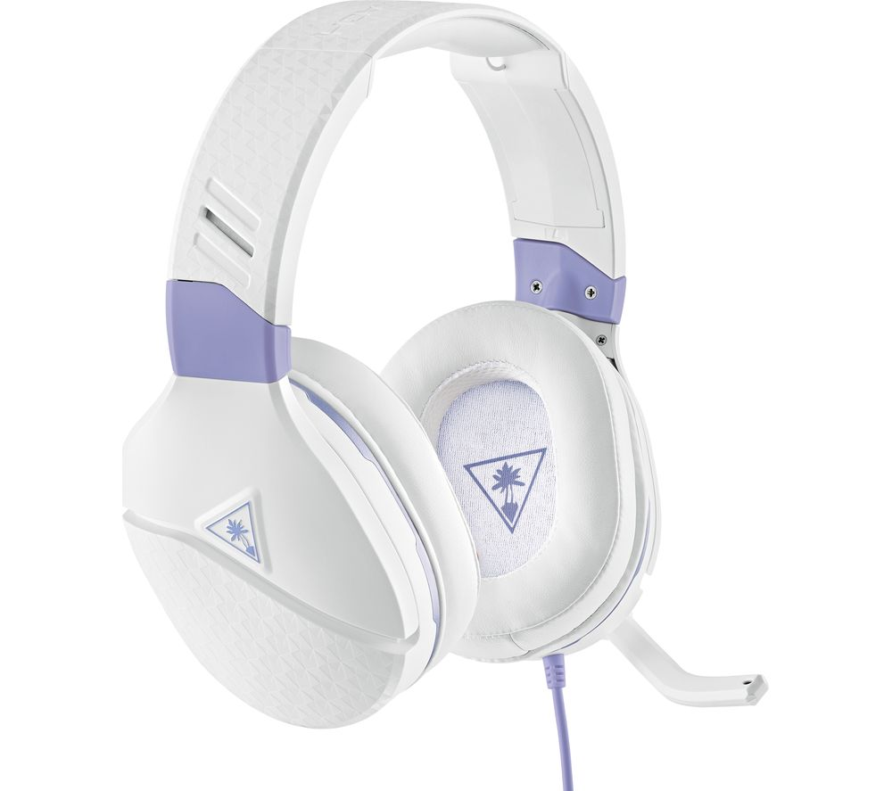 Image of TURTLE BEACH Recon Spark Gaming Headset - White & Lavender, White
