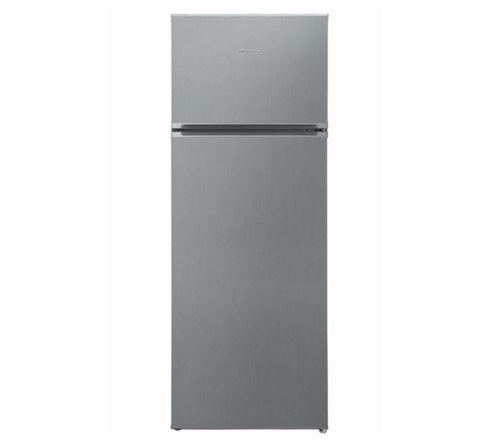 INDESIT I55TM 4110 X 70/30 Fridge Freezer - Silver, Silver