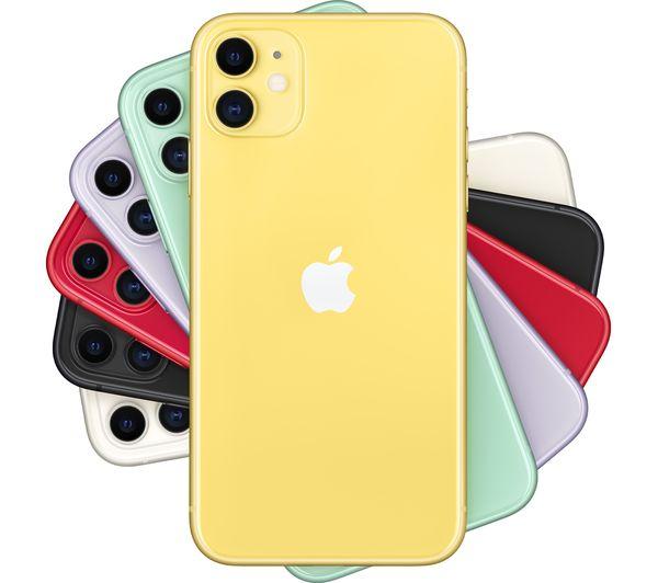 Apple iPhone 11 - 256 GB, Yellow 1