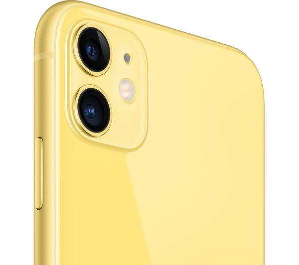 Apple iPhone 11 - 256 GB, Yellow 3