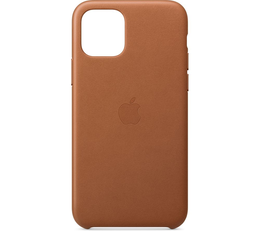 APPLE iPhone 11 Pro Leather Case - Saddle Brown, Brown