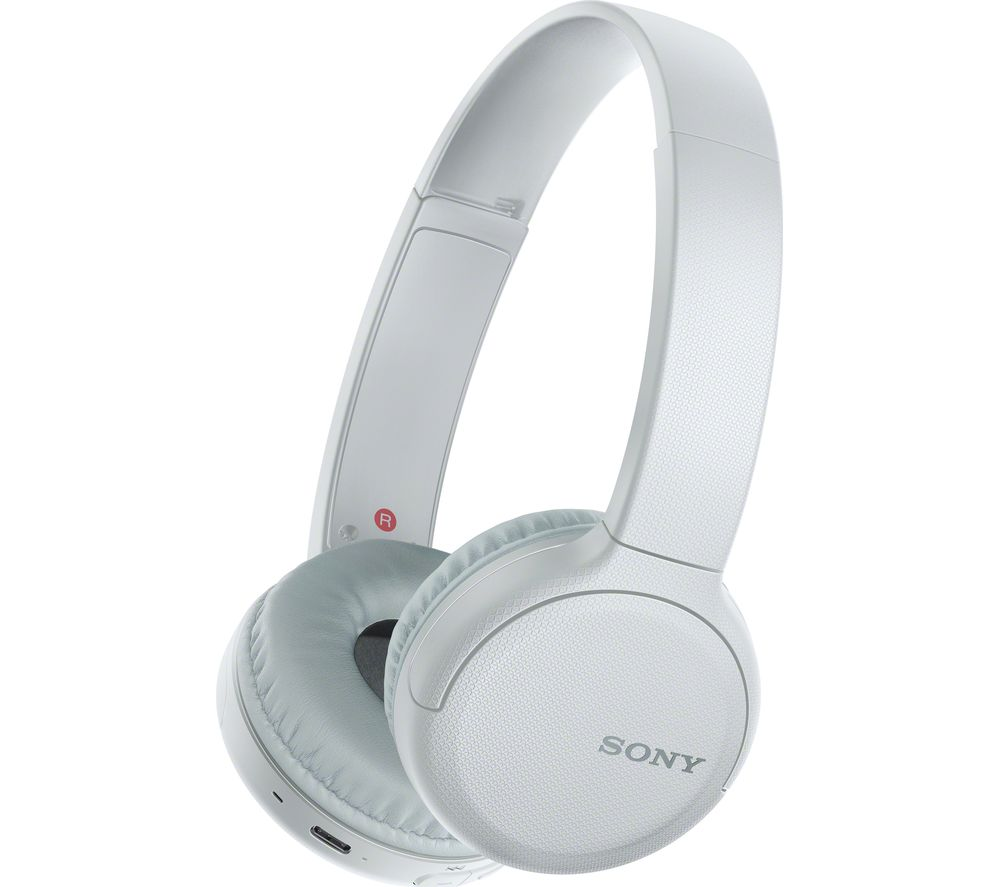 SONY WH-CH510 Wireless Bluetooth Headphones - White