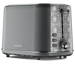 KENWOOD The Abbey Collection TC05.GY 2-Slice Toaster - Slate