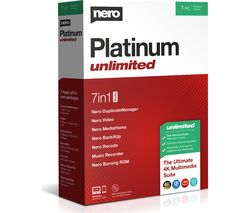 NERO Platinum Unlimited 2020 - Lifetime for 1 user