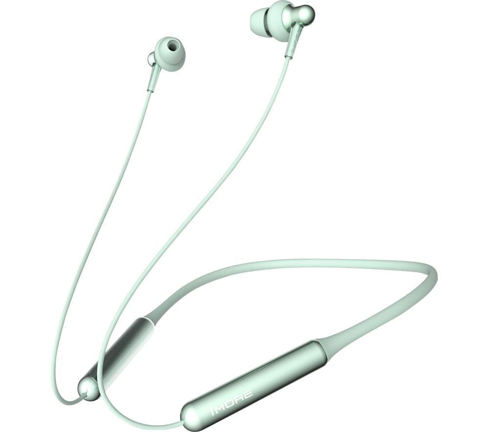1MORE Stylish Dual-Dynamic E1024BT Wireless Bluetooth Earphones - Green
