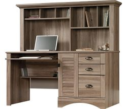 Louvre Hutch 5415109 Desk - Salt Oak