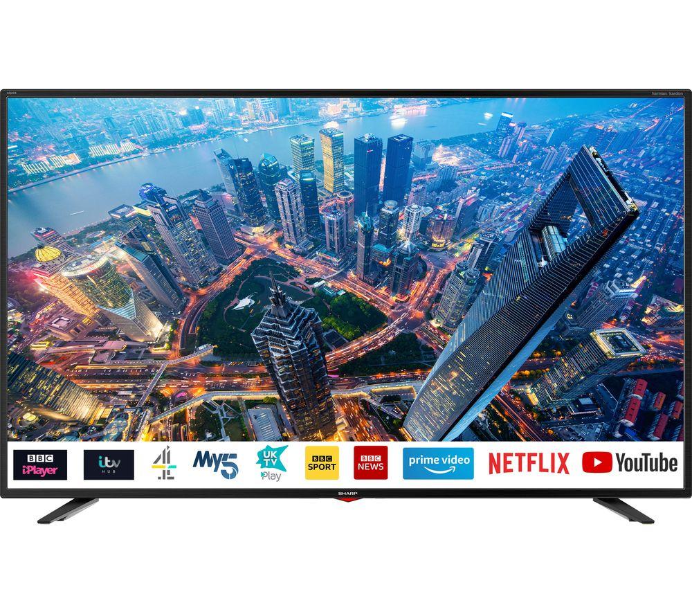 "Image of 55"" 4T-C55BJ3KF2FB Smart 4K Ultra HD HDR LED TV"