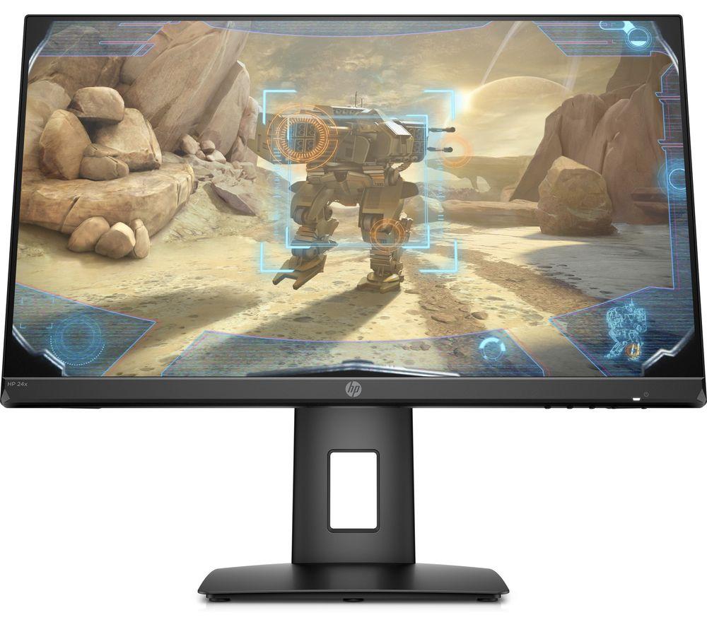 "HP 24x Full HD 23.8"" TN LCD Gaming Monitor - Black"