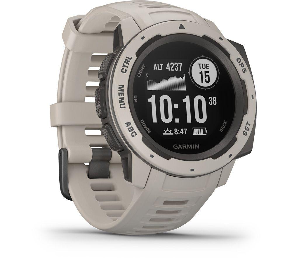 GARMIN Instinct Smartwatch - Silver, Silver