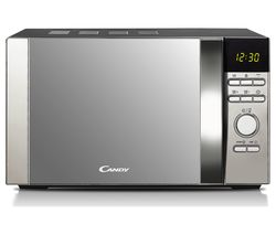 HOOVER CDW20DSS-DX Solo Microwave - Silver Best Price, Cheapest Prices