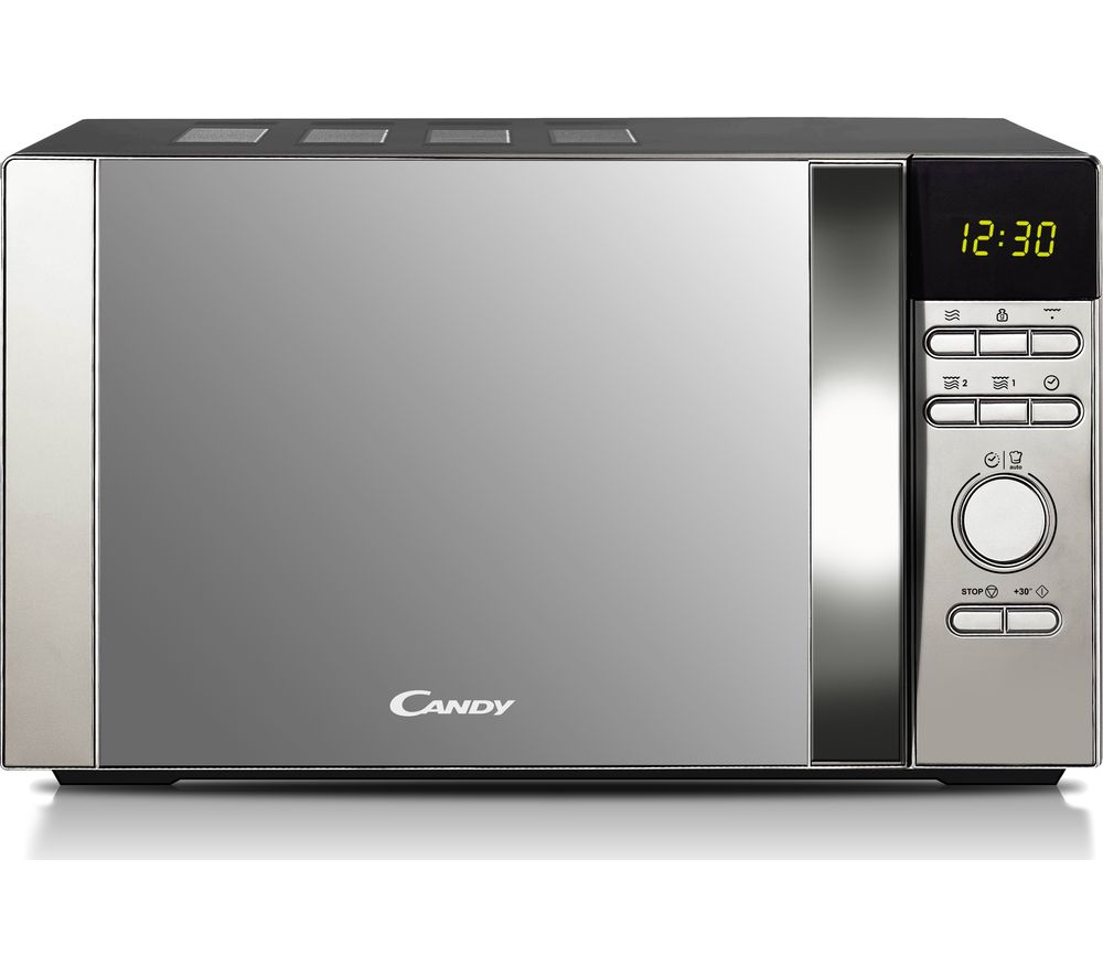 HOOVER CDW20DSS-DXSolo Microwave - Silver, Silver