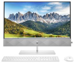 "Pavilion 27-d0005na 27"" All-in-One PC - Intel® Core™ i7, 1 TB SSD, White"