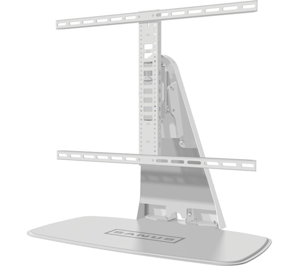 SANUS WSTV1-W2 Swivel TV Stand with Bracket - White