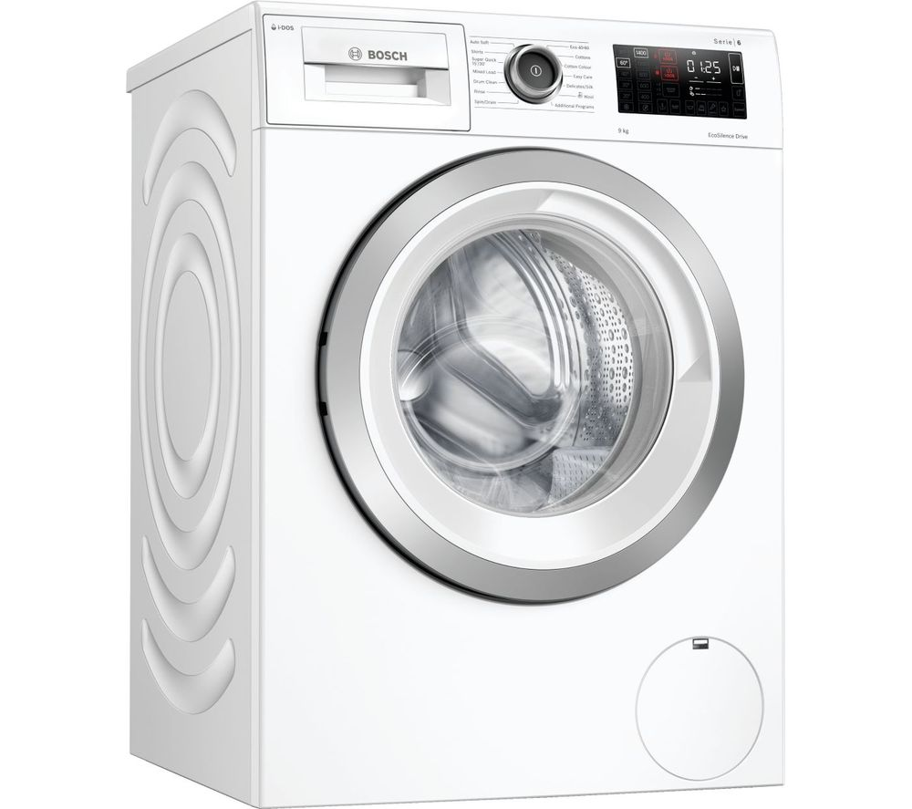 BOSCH Serie 6 i-DOS WAU28PH9GB WiFi-enabled 9 kg 1400 Spin Washing Machine - White